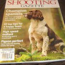 Shooting Gazette magazine Champion SPANIELS high speed mallard pigeon