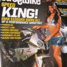 Super STREET Bike Speed king bike magazine 2010 harley
