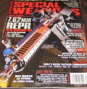 Special weapons magazine military police AR 10  Sniper machine gun wilson SBR