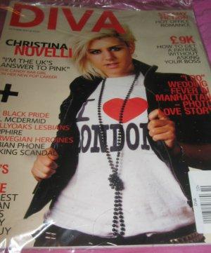 Diva magazine She got game best Lesbian games HOT steamy games Christina Novelli