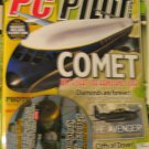 PC Pilot flight sim magazine free CD comet the Avenger diamond Katana
