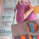 Stitch sewing magazine 7 Unique BAGS purses FREE Patterns  Runway DESIGNer