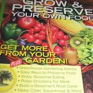 Mother earth news  GROW and PRESERVE your own food  Greenhouse root celler