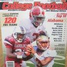 Athlon Sports College Football 2011 Edition Alabama Coaching Carousel 2011