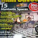 MAN Caves designing magazine finish basement chrome Harley caveman art  sports