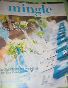 Mingle  fun party handmade Wedding creative gathering magazine Angel inspired