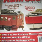 Model railroad news Pennsy MP 54'S Con-Cor volume 18 issue 8 2012 Rapido turbo