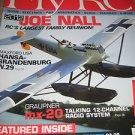Fly RC magazine Blue ANGEL Graupner mx-20 talking12 channel radio system