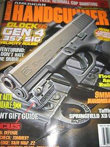 American Handgunner Magazine Glock 32 Gen 4 9mm\.380 Canick auto 9MM  Cop