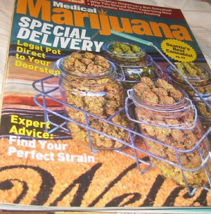 High times magazine  Medical MARIJUANA special delivery legal pot #12 2012