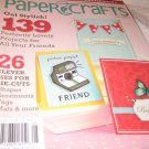 paper crafts magazine die cuts shapes sentiments tags mats july/august 2011