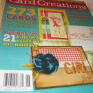 card CREATIONS magazine  designs 21 occasions holidays volume 8 2010 papercrafts