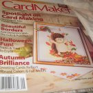 card maker magazine beautiful borders halloween fun handcrafted september 2010