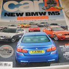 Car magazine October 2011, issue 591 BMW M5 free green car mag FERRARI