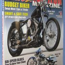American Iron magazine budget biker tips february 2013 DIY brakes softail