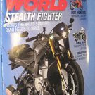 Cycle World Magazine February 2013 Stealth Fighter new metal hot hondas