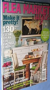 Flea Market Style Magazine Winter 2012 #133 best shopping towns vintage style