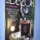 Elle Decor magazine special issue world class style January/February 2013 # 192