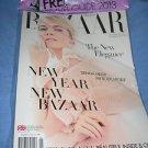 Harper's Bazaar Uk magazine January 2013  sienna miller the body issue elegance