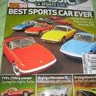 Classic & SPORTS car magazine Lotus ELAN Mercedes SL ettore's Bugatti TVR turbo
