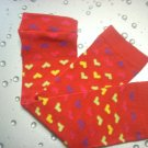 Baby Legs--Red Valentine Multi Hearts