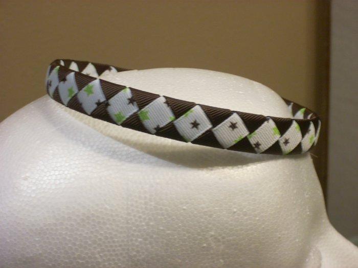 Woven Headband---Stars