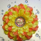 "Bottle Cap Flower - ""Gobble"""