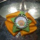 My First Halloween Bottlecap Bow
