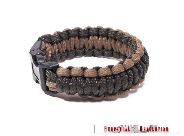 Ultra Paracord Survival Bracelet, Choice of 30+ Colors