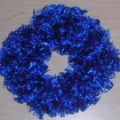 Fun Fur Handmade Crocheted Scrunchies Blue Ribbon