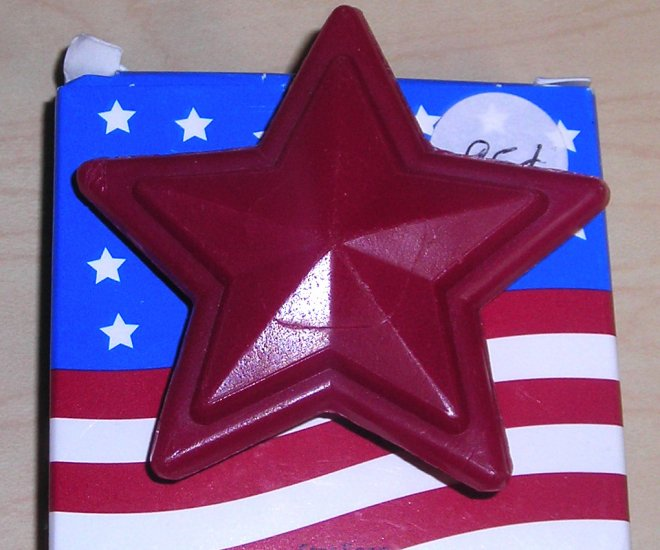 Avon Red Star Soap