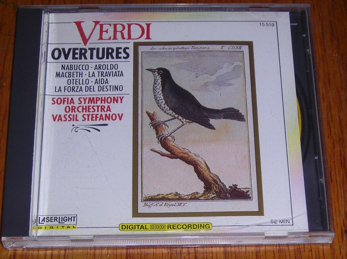 Verdi Overtunes Classical Music CD