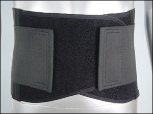 Back Brace w/ Double Pull Closures, Size- Large