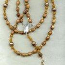 Rosary  of Olivewood from Bethlehem