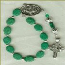 St. Patrick Chaplet with Pewter Celtic Cross