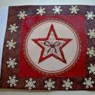 Hollaa holiday card: Red Star handmade ang