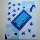 Hollaa holiday card: Happy Winter bears handmade ang
