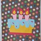 Hollaa birthday card: Confetti Cake handmade ang