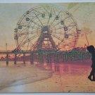 Hollaa Love card: Coney Island Romance handmade ann