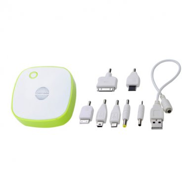 6000mAh Double USB Output LED Mobile Charger Power Bank for iPad/iPhone/Blackberry/HTC/Nokia/Samsung