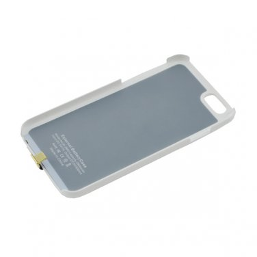 4200mAh Battery Case iPhone 6 5.5inch Backup External Power Charger Case - Black / White