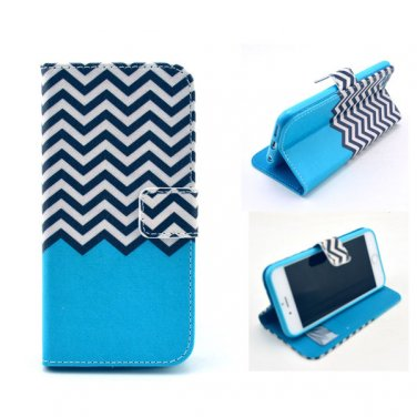 """PU Leather Flip-up Personal Pattern Protector Case Stand Function w/ Card Slots for 4.7"""" iPhone 6"""