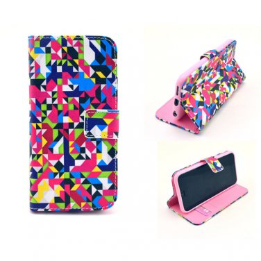 "2015 PU Leather Flip-up Personal Pattern Protector Case Stand w/ Card Slots for 4.7"" iPhone 6"