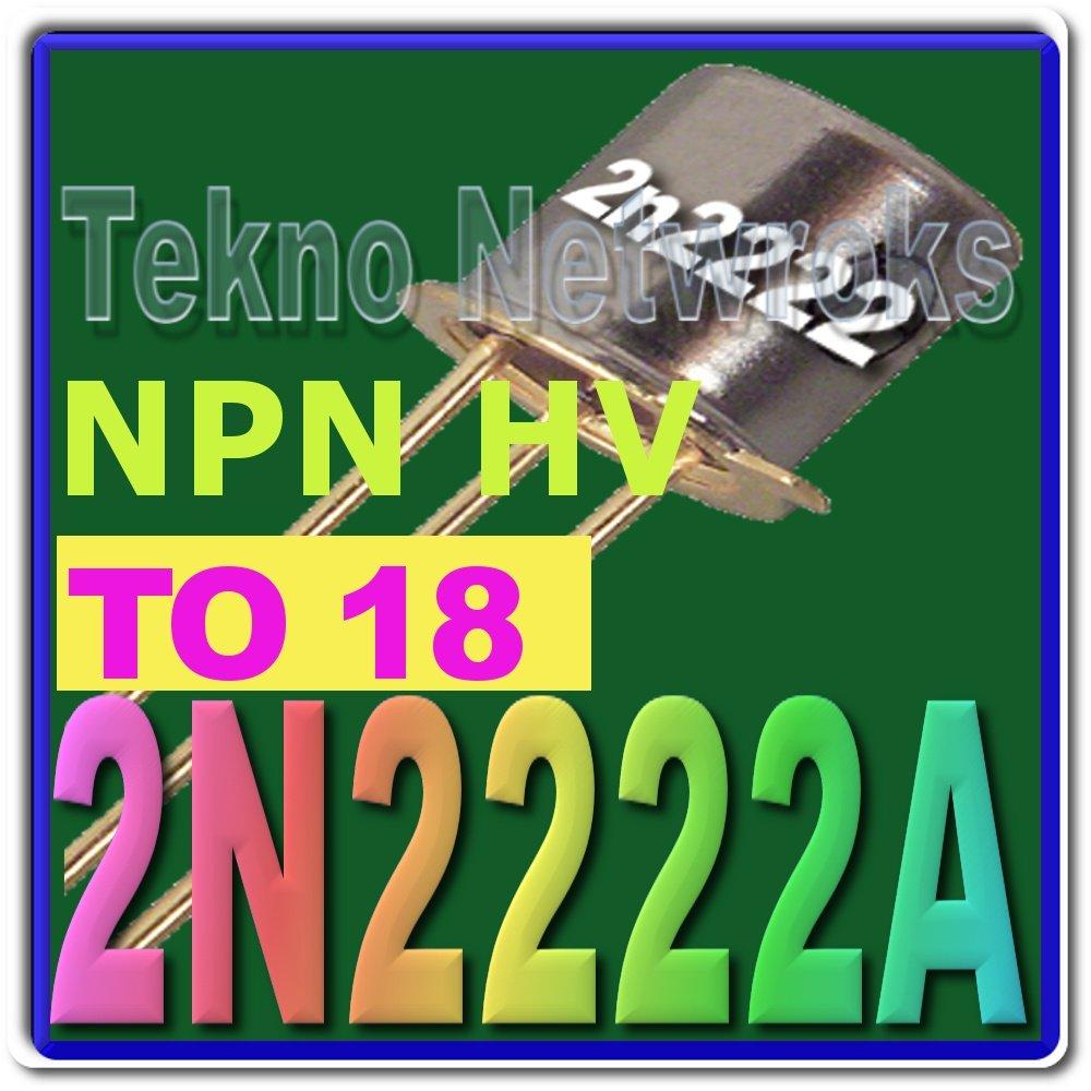 2N2222A NPN Transistors Lot of 8