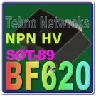 BF620 NPN HV transistor USA + Tracking Lot of 5