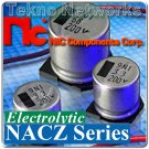 Nippon - 33uF 10V SMD Electrolytic Capacitors 50
