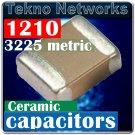 Walsin 1210 3225 4.7µF 4700nF 25V X7R Capacitors 50pcs