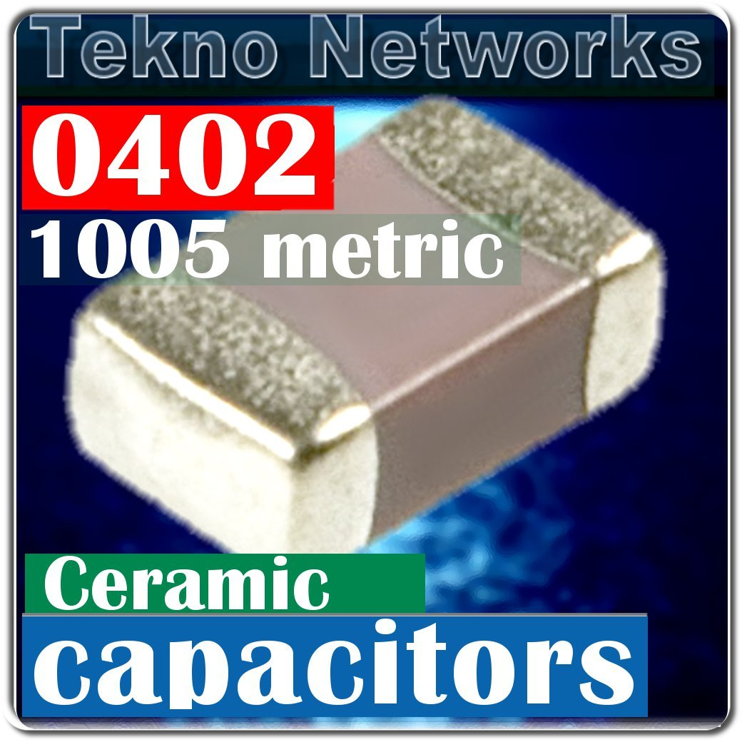 Venkel 0402 3300pF 3.3nF 50V X7R 10% Capacitors 300pcs