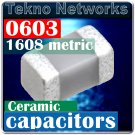 Kemet 0603 1608 47PF 50V C0G ± 10% Capacitors 200pcs