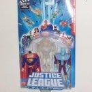 "2004 JLU 4"" Action Figure Episode 802 3-Pack: Superman/ Brainiac/ Clear Martian Manhunter"